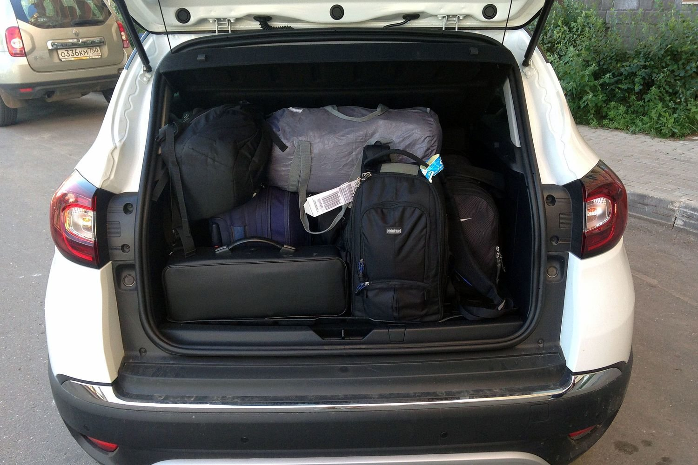 багажник рено каптур
