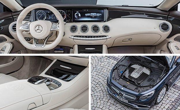 Дизайн Mersedes-AMG S 65 Cabriolet