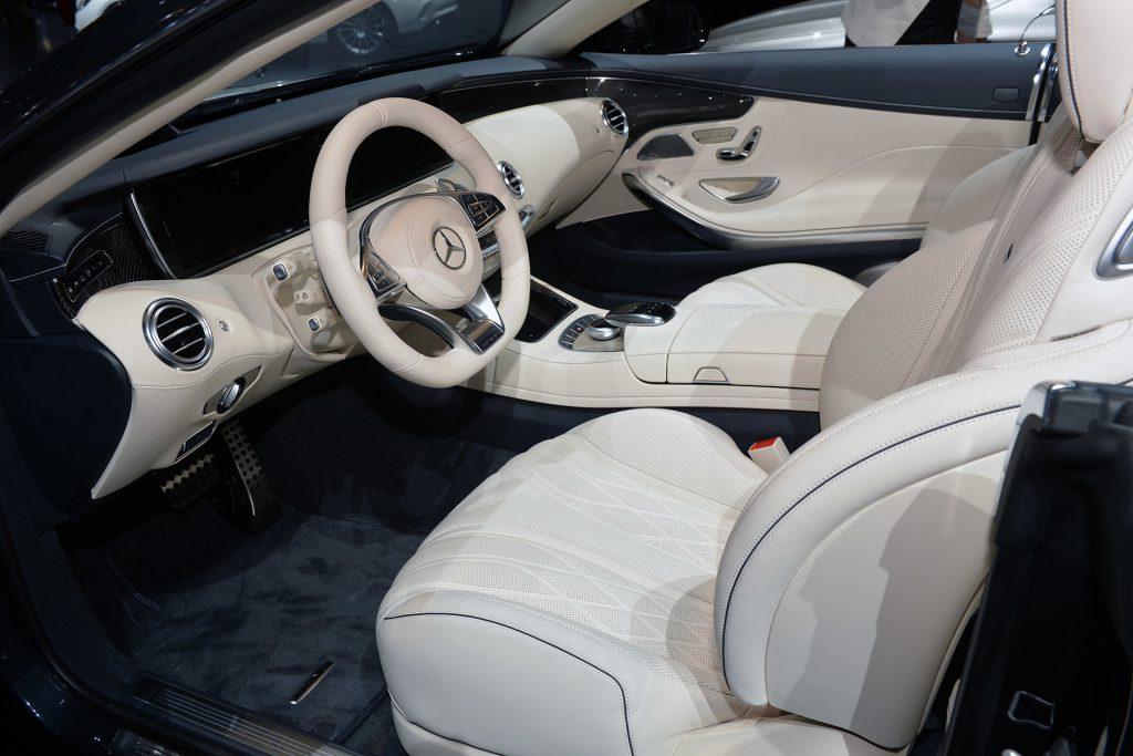 Салон Mercedes S65 AMG
