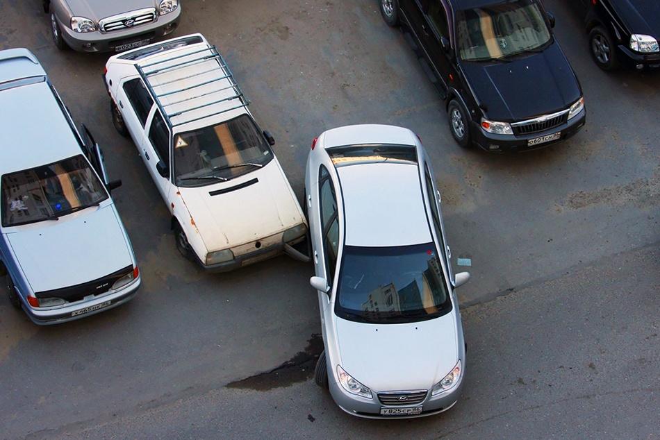 Причины ДТП на парковке