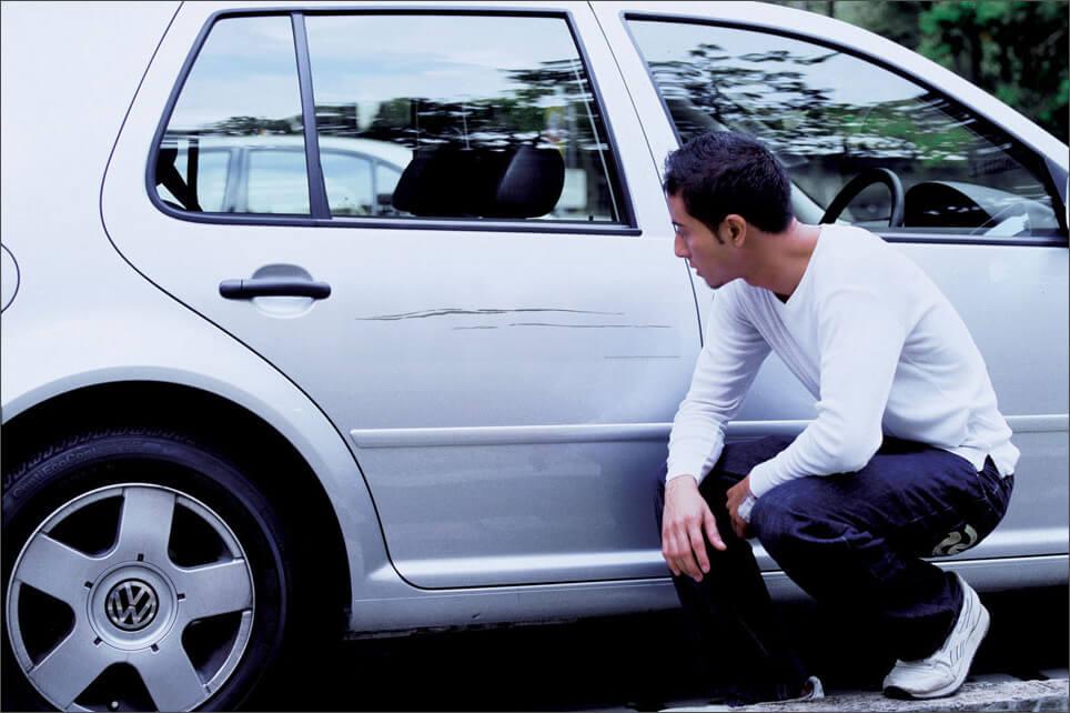На парковке повредили вашу машину