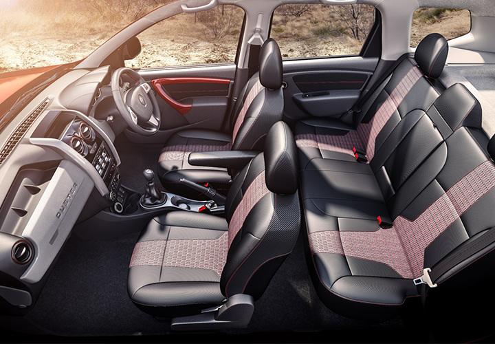 Renault Duster 2018 года интерьер