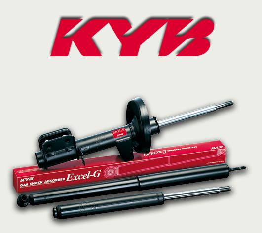 KYB - Стойки амортизаторов задние на нексию